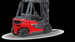 O empilhador com motor de combustão interna H20 – H35 da Linde Material Handling é fácil de manusear, robusto, versátil e requer pouca manutenção.