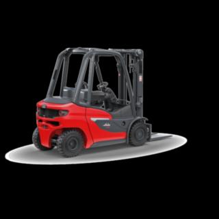 O empilhador com motor de combustão interna H20 – H35 da Linde Material Handling