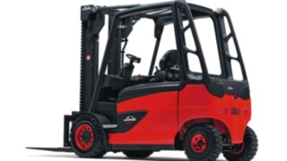 Empilhadores elétricos E35 – E50 da Linde Material Handling