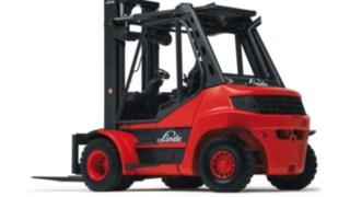 Os empilhadores com motor de combustão interna H50 – H80 EVO da Linde
