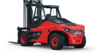 Os empilhadores com motor de combustão interna HT100 – HT180 Ds da Linde