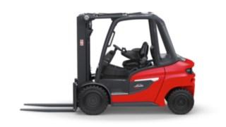 A versão de contentor do empilhador a diesel H20 – H35 da Linde