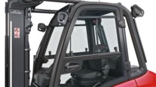 Cabina confortável para o H20 – H35 da Linde