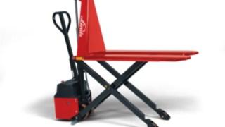 La transpaleta manual con elevador de tijera M10 X/XE de Linde Material Handling