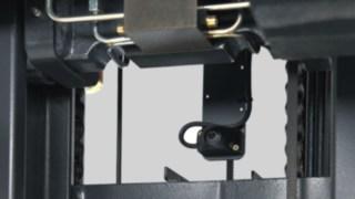 Corrente do mastro de um empilhador retráctil da Linde
