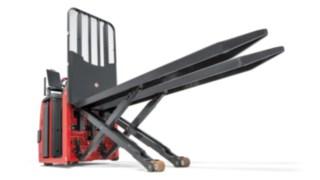 Grade de proteção da carga do preparador de encomendas N20 C LX da Linde Material Handling