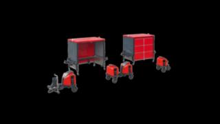 Trenes logísticos modulares de Linde Material Handling