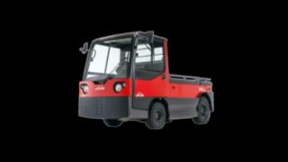 Trator de reboque elétrico P250 da Linde Material Handling