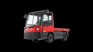 Carro de plataforma elétrico W20 da Linde Material Handling