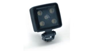 A imagem mostra as luzes de trabalho LED disponíveis como opção