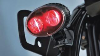 Linde BlueSpot™ com luz LED vermelha