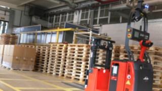 Automação Linde Material Handling