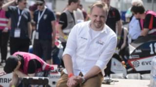 Tim Hannig, Presidente da Formula Student Germany no circuito de Hockenheim