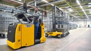 Equipamentos Linde em utilização na Heidelberger Druckmaschinen AG
