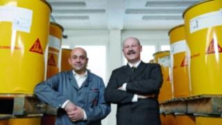 Michael Rath, Diretor de fábrica na filial Bad Urach e Atilla Böhm, Diretor de frota