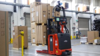 Equipamentos Linde automatizados na Wolf GmbH