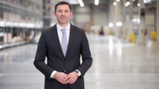 Andreas Krinninger, Chief Executive Officer e Chief Financial Officer na Linde Material Handling