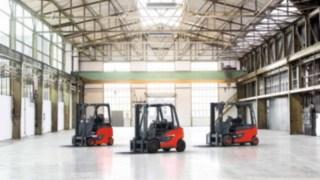 Os empilhadores da Linde Material Handling são os ajudantes número um para intralogística.