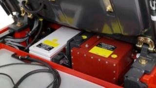 O motor dos equipamentos ATEX da Linde estão encapsulados, para evitar a penetração de pó e sujidade